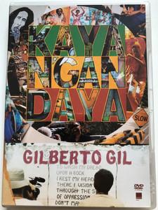 Gilberto Gil - Kaya N'gan Daya DVD 2002 Directed by Lula Buarque de Hollanda / Tempo Só, Three Little Birds, One drop, Waiting in Vain, Is this Love / Warner Music Brasil (809274326225)