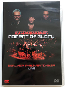 Scorpions - Moment of Glory DVD 2000 Berliner Philharmoniker LIVE / Conducted by Christian Kolonovits / Directed by Pit Weyrich / Eagle Rock Entertainment (5034504917774)