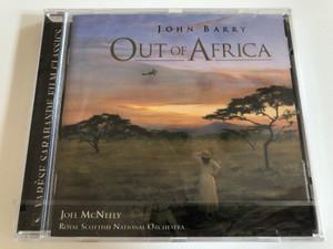 John Barry - Out Of Africa / Joel McNeely, Royal Scottish National Orchestra / Varèse Sarabande Film Classics / Varèse Sarabande Audio CD / 00030206581690
