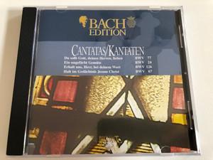 Cantatas = Kantaten / Du Sollt Gott, Deinen Herren, Lieben BWV 77, Ein Ungefärbt Gemüte BWV 24, Erhalt Uns, Herr, Bei Deinem Wort BWV 126, Halt Im Gedächtnis Jesum Christ BWV 67 / Bach Edition - CD 3 / Brilliant Classics Audio CD / 99380/3