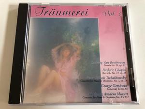 Traumereien - Vol. 3 / Ludwig Van Beethoven: Sonata No. 23 op. 57, Frederic Chopin: Mazurka No. 47 op.68, Peter Iljitsch Tschaikovsky: Concerto for Piano & Orchestra No.1 op. 23, George Gershwin / Soundwings Audio CD 1992 / 506/16.2262-2