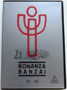 Bonanza Banzai 93-94 2 DVD 2009 / Voice Records / Bonanza Banzai '93-'94 dupla DVD - soha nem látott szenzácós felvételekkel a Bonanza Banzai Búcsúkoncertjéről! (5998638329059)