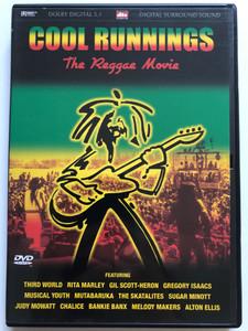 Cool Runnings - The Reggae Movie DVD 2003 Third World, Rita Marley, Musical youth, Chalice, Bankie Banx / Directed by Robert Mugge / Eurotape (5060009230131)