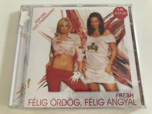 Fresh – Félig Ördög, Félig Angyal / Ajandek DVD melleklettel! / FRESH Audio CD + DVD 2005 / FRESH 1-2