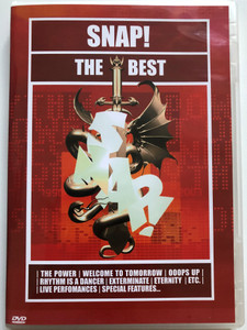 Snap! The Best DVD 2003 / The Power, Rhytm is a dancer, See the light, Eternity, Live Performances / SPV DVD 553-63117 (693723631172)