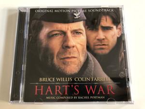 Hart's War (Original Motion Picture Soundtrack) - Bruce Willis, Colin Farrell / Music Composed By Rachel Portman / Decca Audio CD 2002 / 016 886-2