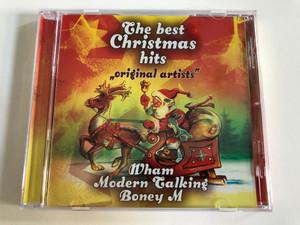 The best Christmas Hits ''original artists'' - Wham, Modern Talking, Boney M / Retro Records Audio CD / LFTC 003