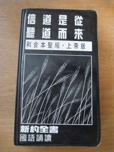 Chinese New Testament (Chinese Edition)