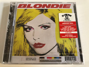 Blondie – Greatest Hits: Deluxe Redux / Artist Approved Greates Hits, Featuring New Recordings Of ''Rapture'', ''Heart Of Glass'', ''One Way Or Another'' & ''The Tide Is High'' / Five Seven Music 2x Audio CD / NBL 500-2