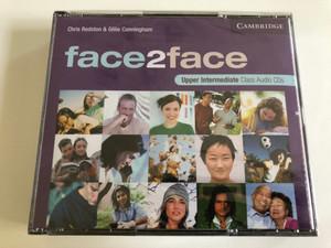 Face2face Upper Intermediate Class / 3 Audio CDs / Authors: Chris Redston & Gillie Cunningham / Publisher: Cambridge University Press (9780521603416)