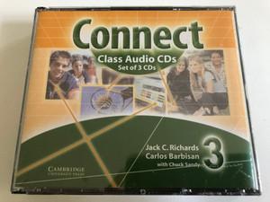 Connect Class Audio CDs / 3 Audio CDs / Authors: Jack C. Richards, Carlos Barbisan, Chuck Sandy / Publisher: Cambridge University Press (9780521594714)