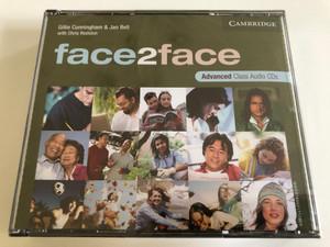 Face2face Advanced Class / 3 Audio CDs / Authors: Chris Redston, Jan Bell & Gillie Cunningham / Publisher: Cambridge University Press (9780521712828)