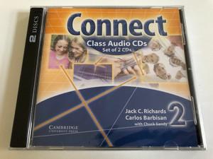 Connect Class 2 / 2 Audio CDs / Authors: Jack C. Richards, Carlos Barbisan, Chuck Sandy / Publisher: Cambridge University Press (9780521594776)