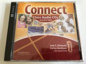Connect Class 1 / 2 Audio CDs / Authors: Jack C. Richards, Carlos Barbisan, Chuck Sandy / Publisher: Cambridge University Press (9780521594882)