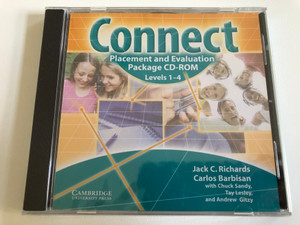 Connect Placement and Evaluation Package CD-Rom / Levels 1-4 / Authors: Jack C. Richards, Carlos Barbisan, Chuck Sandy, Tay Lesley, Andrew Gitzy / Publisher: Cambridge University Press (9780521690034)