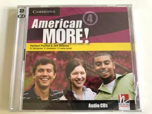 American More! Level 4 Class Audio CDs / Authors: Herbert Puchta & Jeff Stranks Publisher: Cambridge University Press (9780521171663)