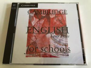 Cambridge English for Schools: Level 3 / 2 Audio CDs / Authors: Andrew Littlejohn , Diana Hicks / Publisher: Cambridge University Press (9780521154109)