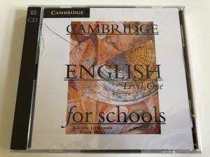Cambridge English for Schools: Level 1 / 2 Audio CDs / Authors: Andrew Littlejohn , Diana Hicks / Publisher: Cambridge University Press (9780521157117)