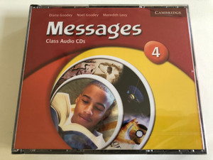 Messages Class: Level 4 / 3 Audio CDs / Authors: Diana Goodey, Noel Goodey, Meredith Levy / Publisher: Cambridge University Press (9780521614443)