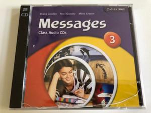Messages Class: Level 3 / 2 Audio CDs / Authors: Diana Goodey, Noel Goodey, Miles Craven / Publisher: Cambridge University Press (9780521614382)