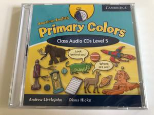 American English Primary Colors Class: 5 / Audio CD / Authors: Diana Hicks, Andrew Littlejohn / Publisher: Cambridge University Press (9780521682640)