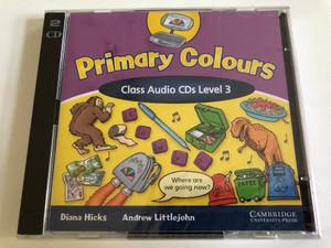 American English Primary Colors Class: 3 / 2 Audio CD / Authors: Diana Hicks, Andrew Littlejohn / Publisher: Cambridge University Press