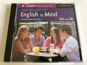English in Mind Combos 3A and 3B / American Voices Class / 2 Audio CDs / Authors: Herbert Putcha & Jeff Stranks / Publisher: Cambridge University Press (9780521707022)