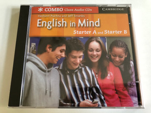 English in Mind: Starter A and B / American Voices Class / 2 Audio CDs / Authors: Herbert Putcha & Jeff Stranks / Publisher: Cambridge University Press (9780521706865)