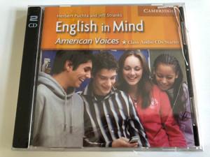 English in Mind Starter Class Audio CDs American Voices Edition / 2 Audio CDs / Authors: Herbert Putcha & Jeff Stranks / Publisher: Cambridge University Press