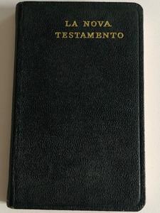 La Nova Testamento / Esperanto New Testament / British and Foreign Bible Society / Leather Bound Pocket NT / Esperanto NT (56402038)