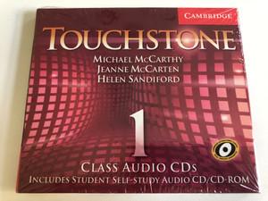 Touchstone Class: 1 / Audio CD/CD-ROM / Authors: Michael J. McCarthy, Jeanne McCarten, Helen Sandiford / Publisher: Cambridge University Press (9780521666060)