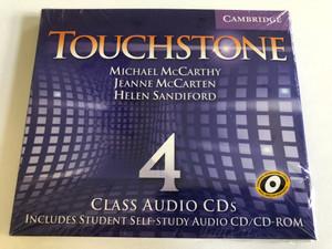 Touchstone Class: 4 / Audio CD/CD-ROM / Authors: Michael J. McCarthy, Jeanne McCarten, Helen Sandiford Publisher: Cambridge University Press (9780521665889)
