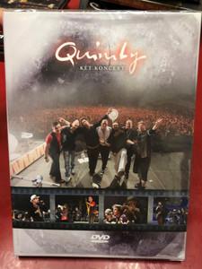 Quimby - Két koncert / 2 DVDs / Made in Hungary (5999524961889)