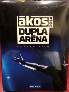 Ákos - Dupla Aréna 2014 / Koncertfilm / DVD+2CD / Made in Hungary (5998638315359)