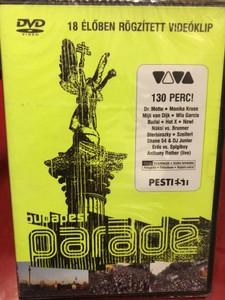 Budapest Parádé / 18 élőben rögzített videóklip / DVD / Made in Hungary (5999880904094)