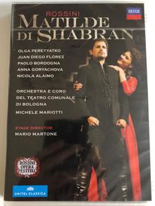 Rossini: Matilde Di Shabran (Opera) / 2 DVDs / Stage Director: Mario Martone / Olga Peretyatko, Juan Diego Florez, Paolo Bordogna, Anna Goryachova. Michele Mariotti (044007438138)
