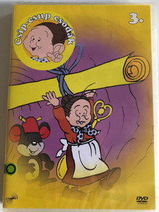 Csip-csup csodák 3. / Mrs. Pepper Pots / Spoon Oba-san スプーンおばさん / DVD / Rajzfilmfigurák / Made in Hungary (5999883217238)
