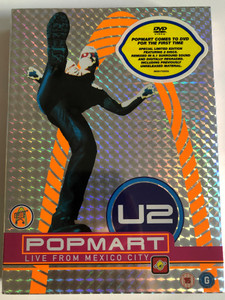 U2 Album: Popmart: Live from Mexico City / Special Limited Edition / 2 DVDs (602517335325)