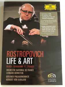 Rostropovich: Life & Art / DVD Video / Bloch, Schumann, R. Strauss (044007343814)