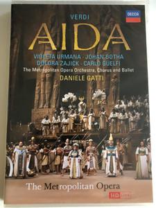 Verdi: Aida / 2 DVD / Actors: Violeta Urmana, Roberto Scandiuzzi / The Metropolitan Opera / Sung in Italian / Made in the EU (0044007434284)