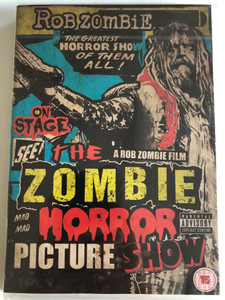 Rob Zombie - The Zombie Horror Picture Show / 2014 DVD / T-Boy Records (602537790937)