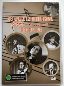 Volt egyszer egy Táncdalfesztivál DVD Válogatás a Táncdalfesztivál dalaiból 1966-1968 / Hungarian Music Festival from the 60's / Omega, Koncz Zsuzsa, Szécsi Pál, Zalatnay Sarolta, Kovács Kati, Aradszky László (5996357344094)