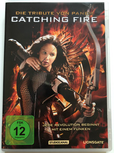 The Hunger Games: Catching Fire DVD 2013 Die Tribute von Panem / Directed by Francis Lawrence / Starring: Jennifer Lawrence, Josh Hutcherson, Liam Hemsworth, Woody Harrelson (4006680070186)