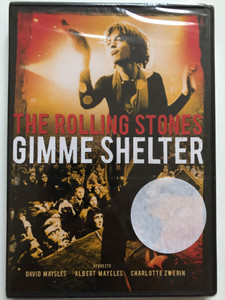 The rolling Stones - Gimme Shelter DVD 1970 / Directed by David Maysles, Albert Maysles, Charlotte Zwerin / Documentary chronicling the last weeks of The Rolling Stones' 1969 US tour (5948211019655)