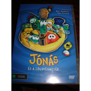 Jonas es a zoldsegmesek / Jonah - A Veggietales Movie / Region 2 PAL DVD Euro...