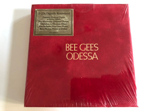 Bee Gees – Odessa / 3CDs Digitally Remastered, Features Original Stereo & Mono Mixes, Plus Previously Unissued Demos, Outtakes, & Alternate Mixes Also Includes New Liner Notes / Reprise Records 3x Audio CD 2009 / 8122-79886-6