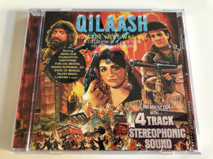 Qilaash - How The West Was One - A Collection of 12 Cuts From The Asian Overground / Starring: Asian Dub Foundation, Earthtribe, Fun Da Mental, Indian Ropeman, Joi, State of Bengal, Talvin Singh / Nation Records Audio CD 2000 / NRCD1066