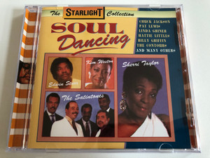 Soul Dancing / Edwin Starr, Kim Weston, The Satintones, Sherri Taylor, Chuck Jackson, Pat Lewis, Linda Griner, Hattie Littles, Billy Griffin, The Contours, and many others / Galaxy Music Audio CD 1995 / 3885442