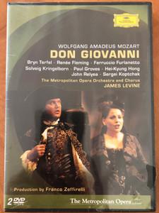 Don Giovanni 2DVD 2005 The Metropolitan Opera / Produced by Franco Zeffirelli / Conducted by James Levine / Bryn Terfel, Renée Fleming, Ferruccio Furlanetto, John Relyea / Deutsche Grammophon (044007340103)
