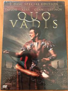 Quo Vadis DVD 1951 / Directed by Mervyn LeRoy / Starring: Robert Taylor, Deborah Kerr, Leo Genn, Peter Ustinov / American epic historical drama film (7321925009620)